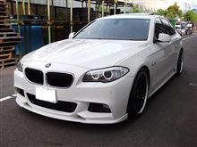 BMW 528i (F10)高速シミーの原因は1