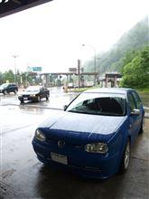 雨~富山県高岡市往復してきました