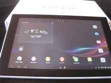 Xperia(TM) Tablet Z  。