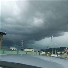 リアル暗雲(・∀・;)