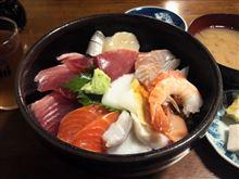 昨日の海鮮丼
