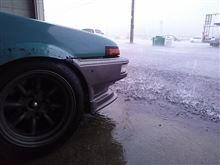 仙台ゲリラ豪雨