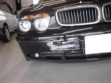 BMW 7シリーズ 板金塗装