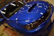 WRブルーの青空 スバル・WRX STIのガラスコーティング【リボルト東京WEST】