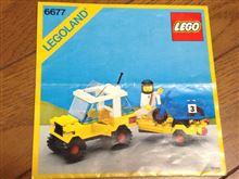 LEGO 6677 「Motocross Racing」
