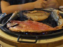 夏休みの西伊豆干物食堂