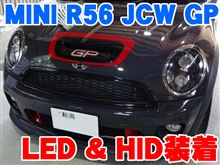 MINI JCW GPにLEDやHIDやコーディング
