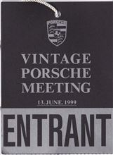 VINTAGE PORSCHE MEETING (1999.6.13)