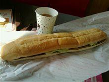今日で最後のロッテリア500円超ロングリブサンドを食す☆彡