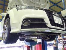 お盆前のメンテナンス AUDI TT DSGオイル+ビルフラ+Drカーボン