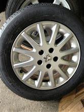 タイヤの履き替え