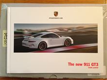 The New 911 GT3のカタログ