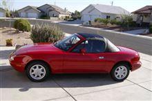 1990 Mazda Miata with just 27 original miles