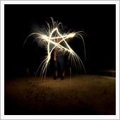 花火を撮る