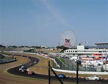 鈴鹿1000キロレース予選。やっと夏休みらしいイベント^^;