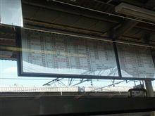 中央本線 塩尻駅ですね。