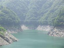 秩父湖のつり橋...