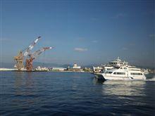 スーパージェット宮島に乗船
