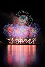 2013年 諏訪湖祭 湖上花火大会!途中中止