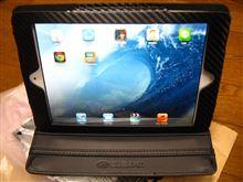 [iPad mini] SUBARU オンラインショップでカーボンレザーケース購入