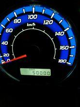 祝!50,000km