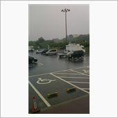 大雨応援で