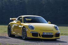 新型911GT3海外試乗 先代を大幅上回る速さ!