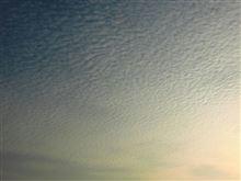 鱗雲やら自動運転やら・・・
