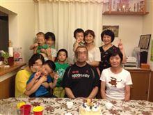 弟の誕生日会♪