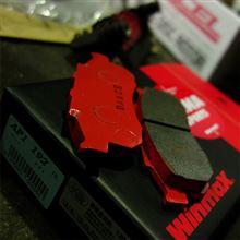 【PP1】フロントブレーキ WINMAX AP1 / AT3 メーカアドバイス