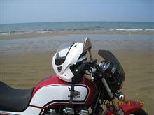 車で走れる砂浜 千里浜(ちりはま)なぎさドライブウェイに行ってきました。
