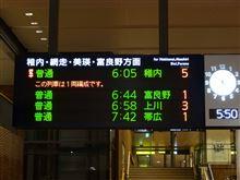 普通列車の旅w絶賛実施中!(旭川~稚内)