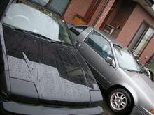 洗車、雨、大会・・・