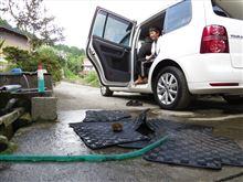 車内大掃除