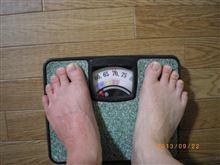 う~む・・・体重が・・・