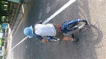 長男自転車乗れるように!