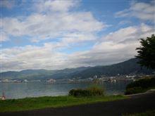 諏訪湖へ(2)