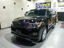 ランクル200には、VIPERで安心と快適を!!