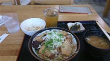 三枚肉丼(よなばる食堂)