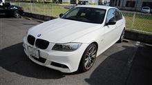 サウンドアンサーバックシステム LOCK音 BMW E90+エンジンオイル交換