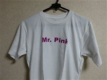激レア!『Mr. Pink』Tシャツ♪