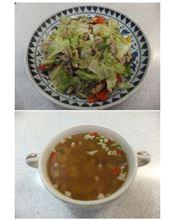 千葉県産の野菜と豚肉で2品