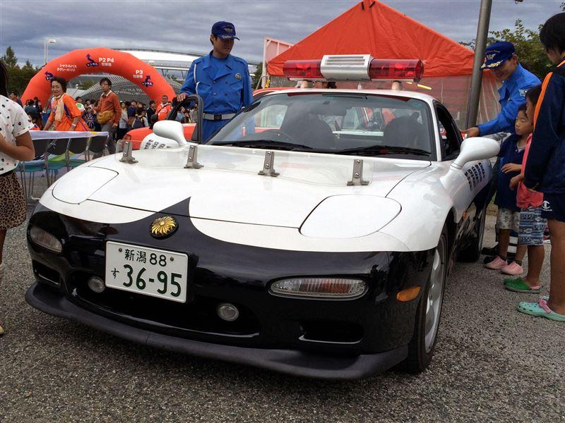 RX-7パトカー(新潟県警)