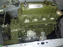 エンジンペイント。