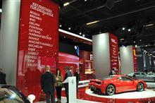 ドイツモーターショー2013の舞台裏⑭ フェラーリ
