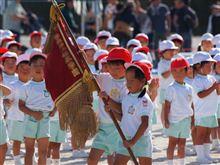 幼稚園最後の運動会でした。