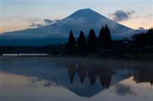 田貫湖でキャンプ♪ ~ 富士山を求めて彷徨う