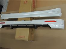 MH34Sスティングレー リアハーフスポイラーをツートン塗装しました。
