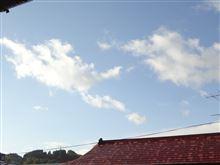 10月27日 このまま晴れて欲しい日曜日、おはよ~♪