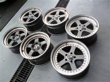 タイヤ交換(^-^)/ GTR